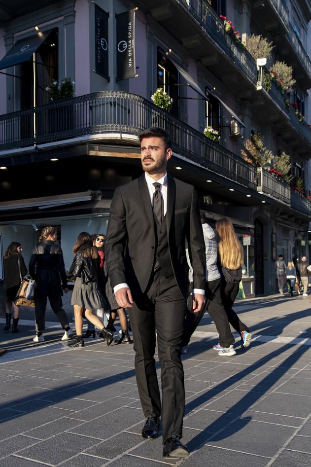 COLLEZIONE UOMO 2020 | Via della Spiga Milano Wedding